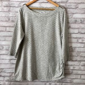 Gray tunic sweater• Liz Claiborne